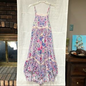 NWT Spell & The Gypsy Babushka Strappy Midi Dress